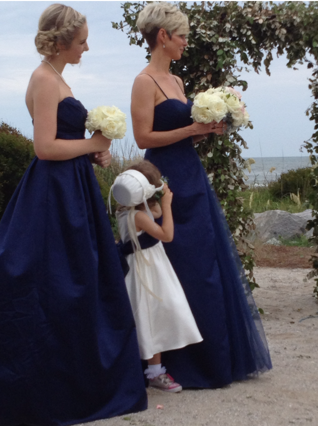 My Daughter, My Niece, and Me at My Sister's Wedding