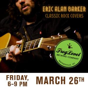 Erick Alan Barker at FLB on 3/26/21