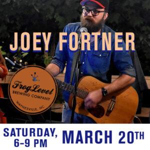 Joey Fortner at FLB 3/20/21