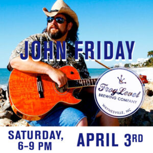 JOHN FRIDAY at FLB 4/3/21