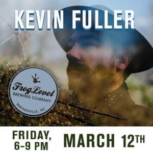 Kevin Fuller at Frog Level Brewing