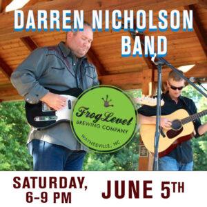 DARREN NICHOLSON BAND at FLB 6/5/21