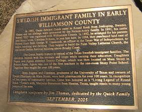 Swedish immigrants of williamson county