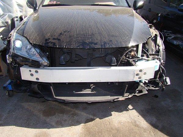 bumper damage to lexus