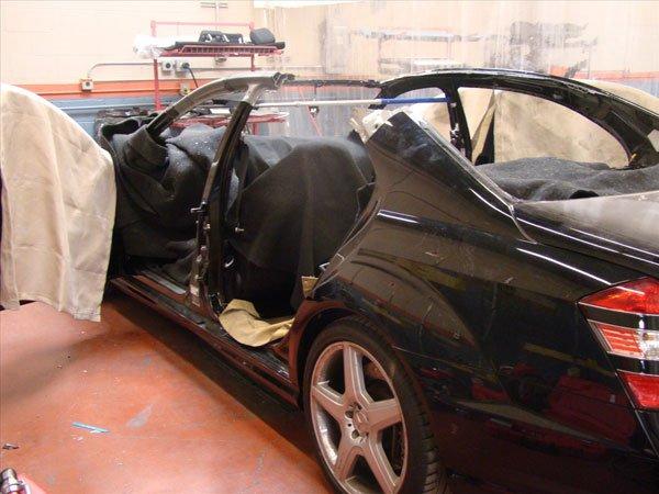 Mercedes repair process