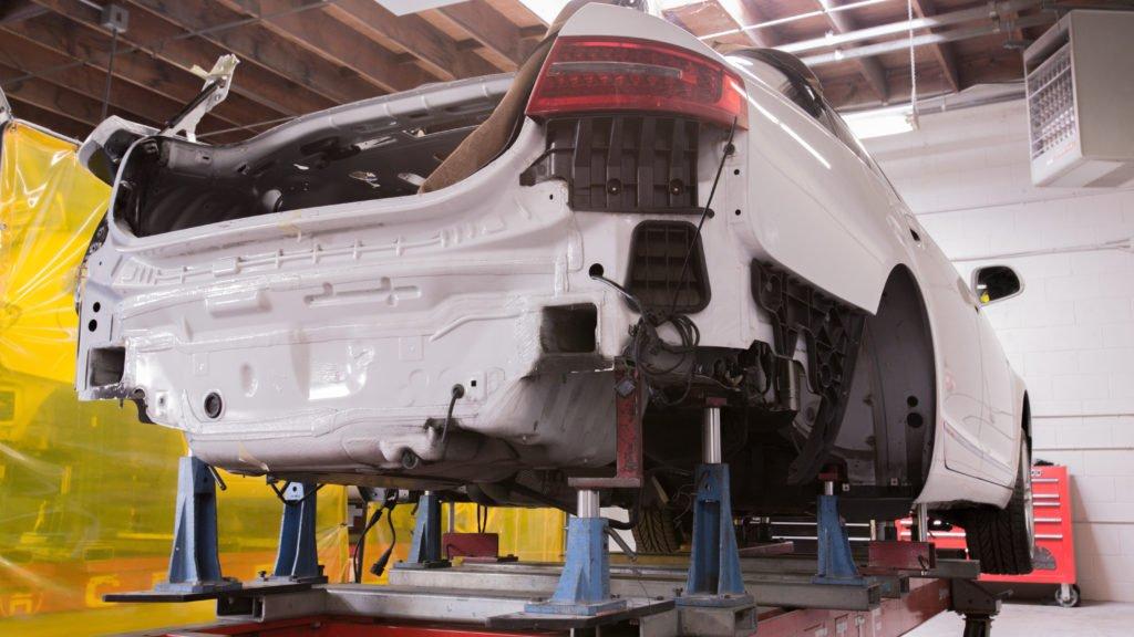 Precision Auto body shop