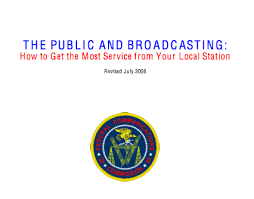Broadcaster Public Interest Obligations