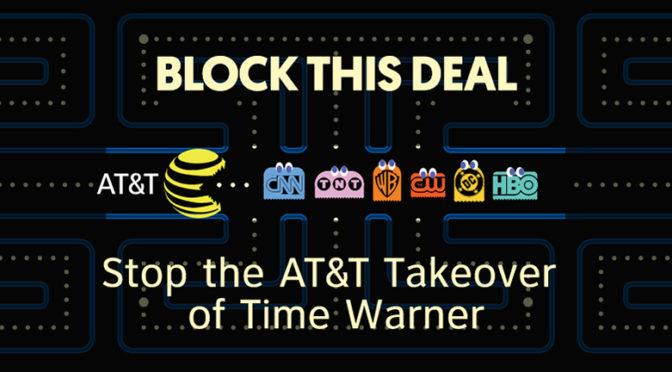 Dozen Media Change Groups Protest AT&T/Time-Warner Merger