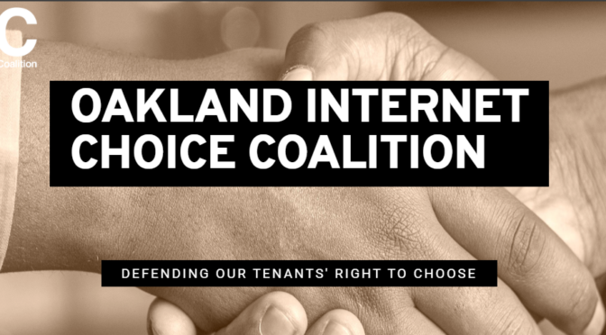 Internet Choice for Oakland (And Berkeley)