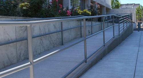 Commercial ADA handrail