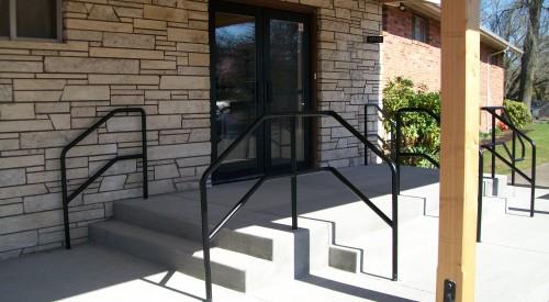 Commercial Steel Handrail
