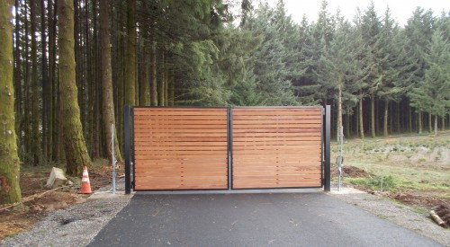 Steel & Wood Gate