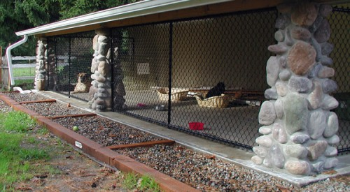 Permanent Dog Kennel