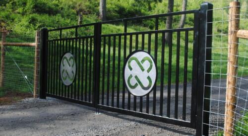 Custom Commercial Gate