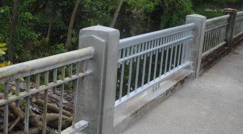 Commercial Iron Rail