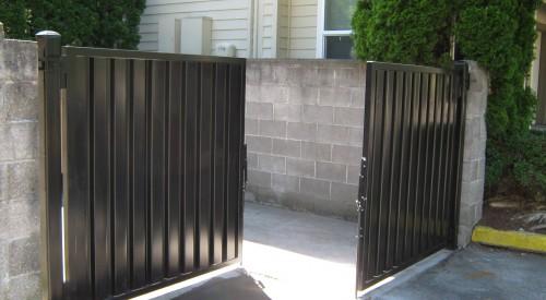 Garbage Enclosure Gates