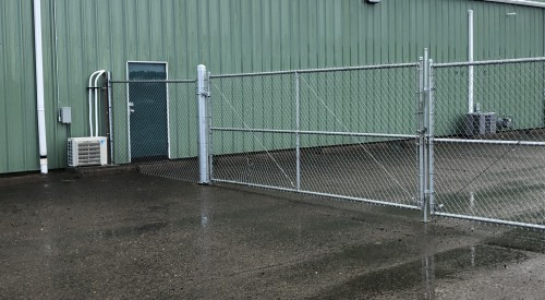 Commercial Roll Gate