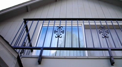 Residential Patio Rail