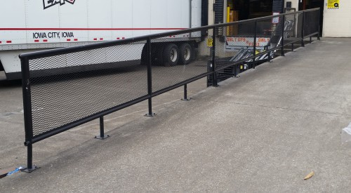 Loading Dock Rail
