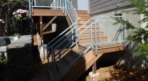 Patio Deck Rail