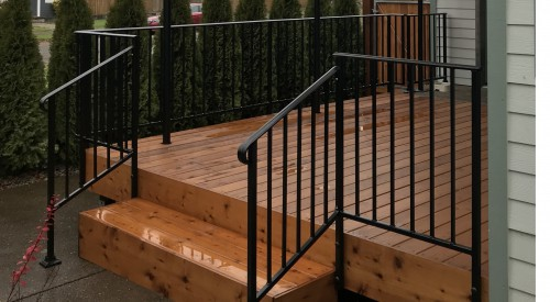 Patio Deck Guardrail