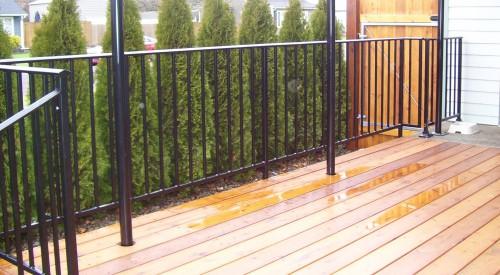 Patio Deck Guardrail