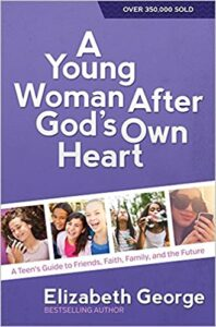 "alt=""a young woman after god's own heart book cover"""