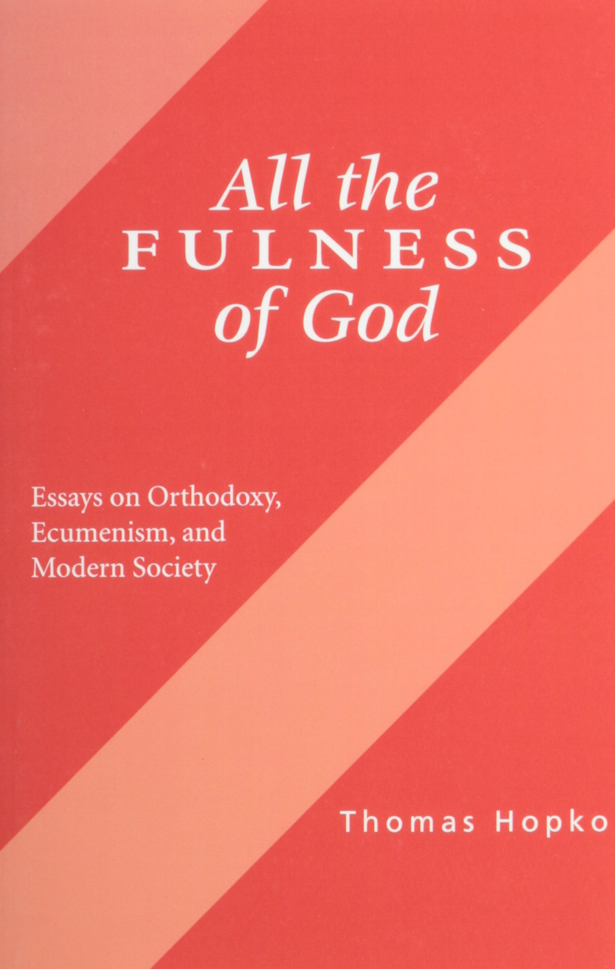 all the fullness of god book cover