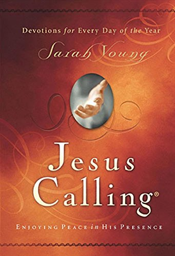 jesus calling book cover