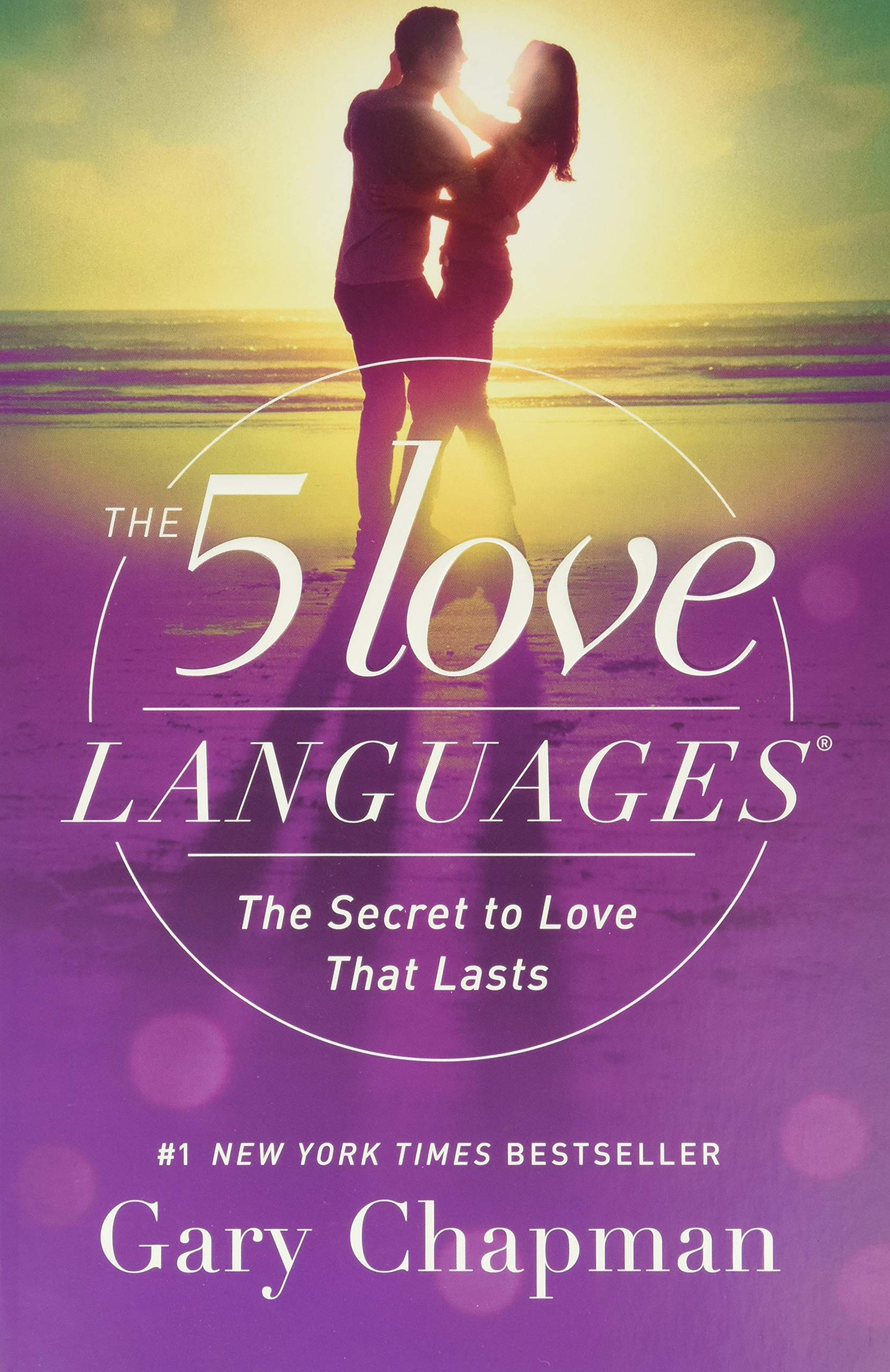 the 5 lover languages book cover