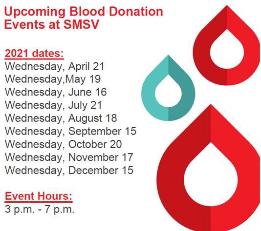 Blood Donation Schedule