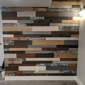 Reclaimed Pallet Wall Wood Wall