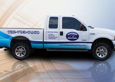 Pickup truck wrap, vehicle wrap