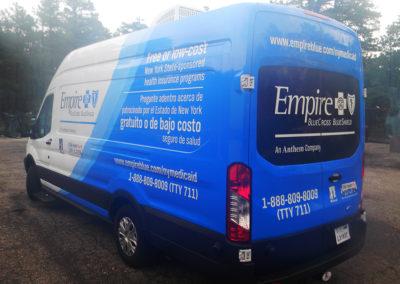 Transit vehicle wrap, fleet vehicle wrap