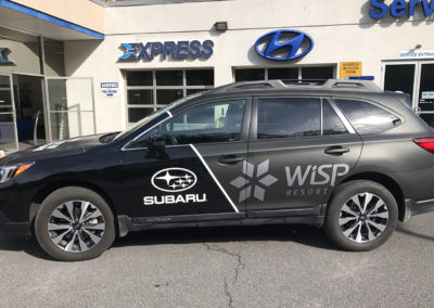 Fleet Vehicle Wrap, car wrap, vehicle wrap