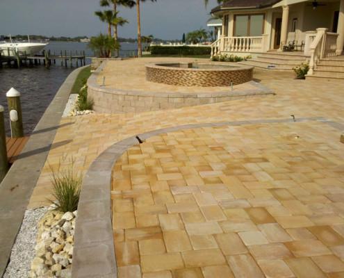 brick paver pool patio 10