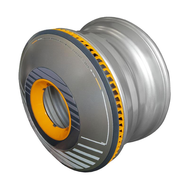 Maxion Wheels AEROWHEEL Steer Axle Wheel Cover