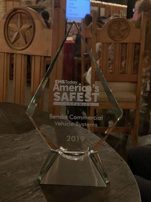 Bendix Commercial Vehicle Systems - Americas Safest Companies