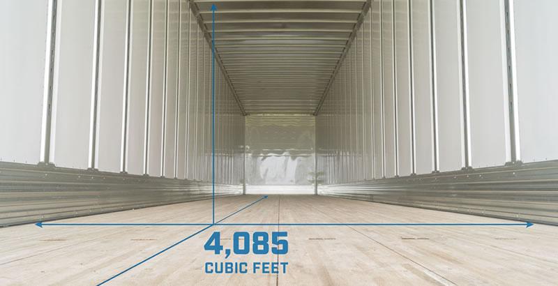 Utility 4000DX Dry Van Trailer - Optimized Load Space