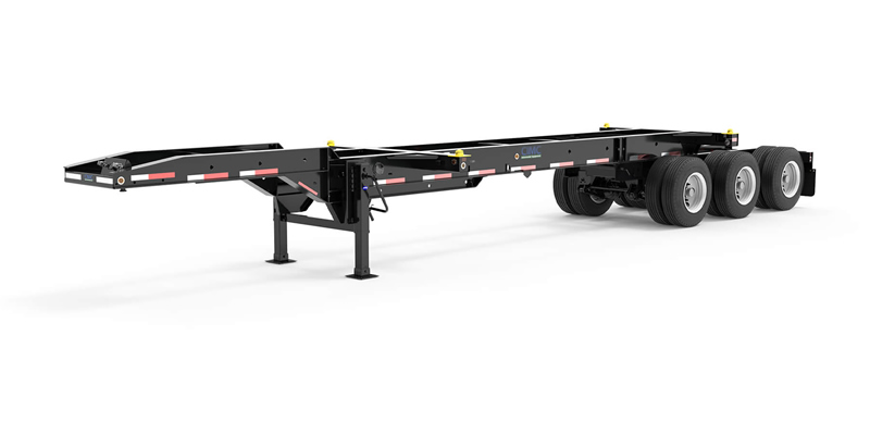 CIE Manufacturing 33 ft Tridem Slider Container Chassis
