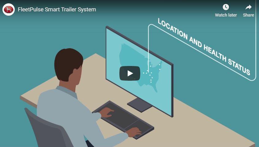 Great Dane FleetPulse Trailer Monitoring
