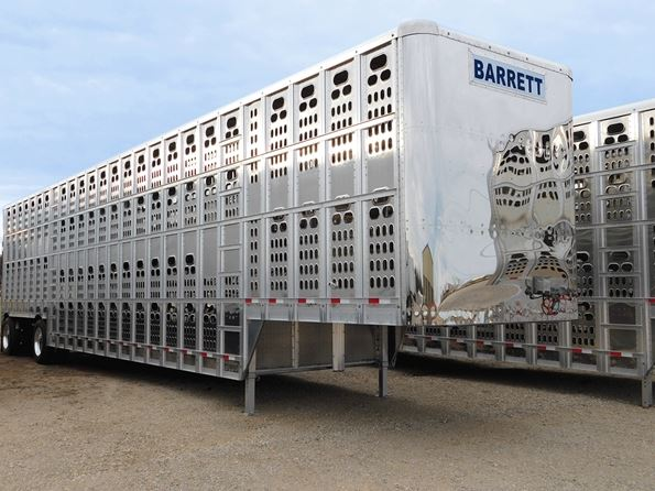 Barrett Livestock Semi-Trailers with Rounded Front Nose