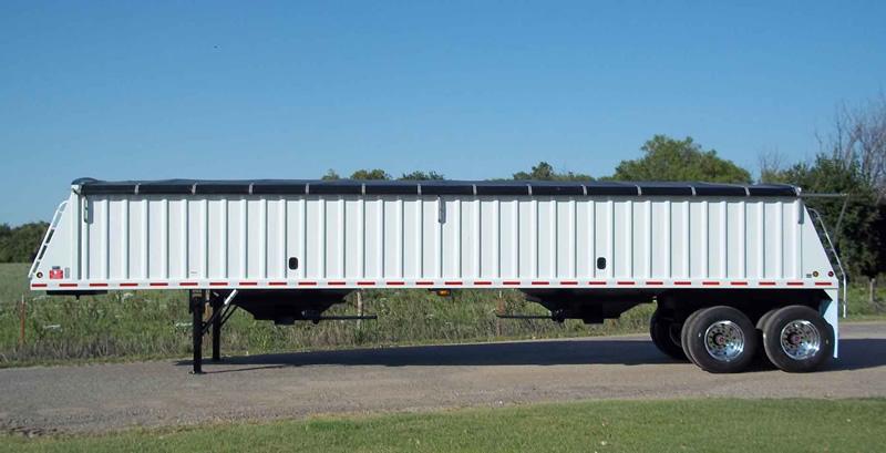 Neville Built Steel Grain Trailer