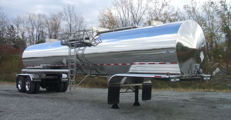 Wolf Tanks 7200 USG TC-407 STAINLESS INSULATED TANDEM