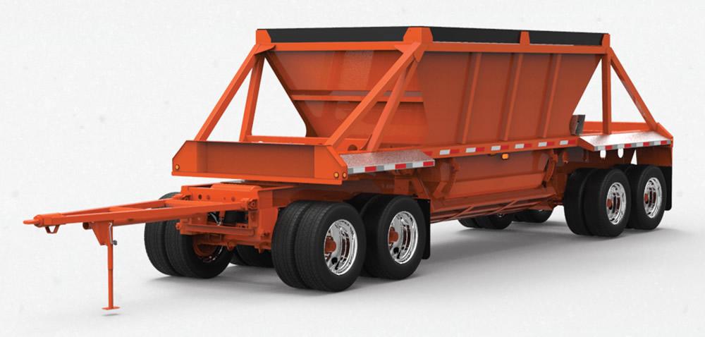 290QBCL Quad Wagon Clamshell