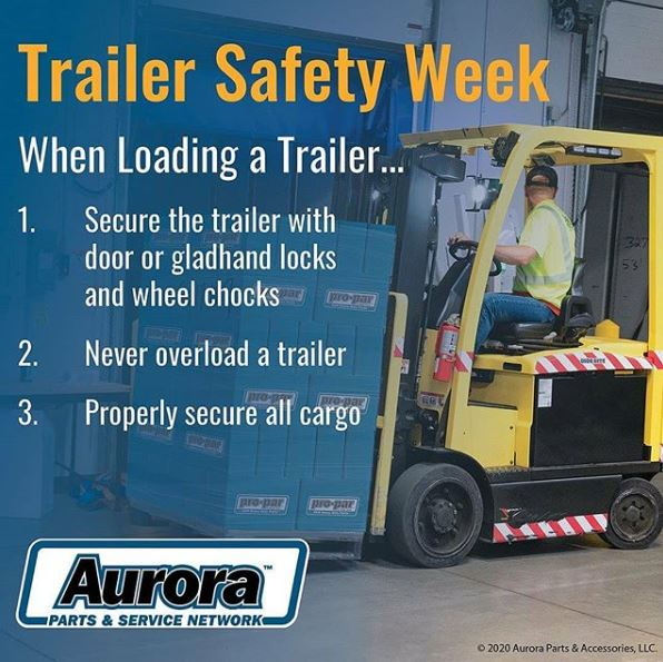 Trailer Safety Week - Loading Trailers