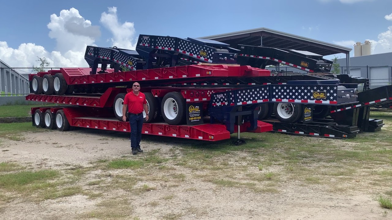 Witzco All American RG-52 52 Ton Removable Gooseneck Trailers