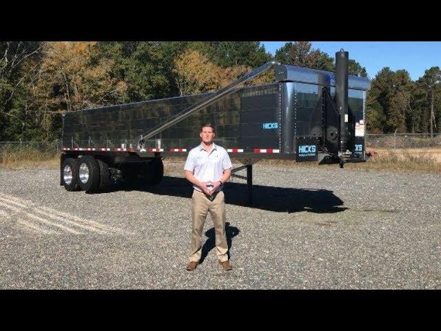 Hicks T6 Aluminum End Dump Trailer