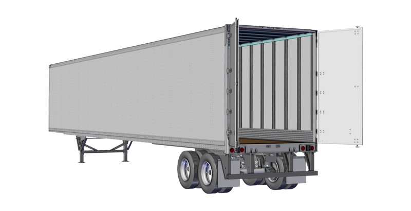 Strick Trailers TF1 Dry Van Trailer