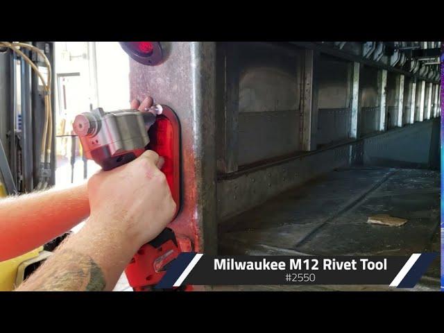 Milwaukee M12 Rivet Tool Review